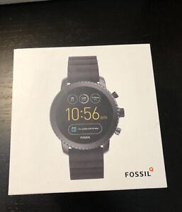 Fossil Smartwatch Q Explorist Gen3 DW4A - Black