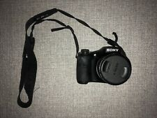 Sony Cyber-shot DSC-H300 20.1MP Digital Camera - Black.  Case Included