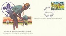 Sierra Leonean First Day Cover Topical Postal Stamps