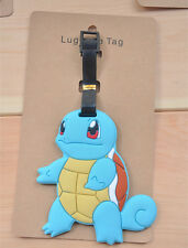 Pokemon go Squirtle silica gel luggage tags Baggage Tag cute tags new