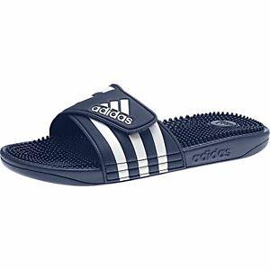 Adidas Adilette Adissage Chaussons Sandales de Plage Massage F35579 Bleu Marine