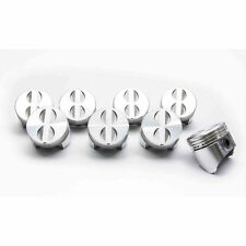 Chevy 283 Sealed Power/Federal Mogul Cast Flat Top 4VR Pistons Set/8 +30