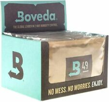 Boveda 70g Humidipak 49% RH Humidity Control for Guitars, Herbs, 12-pack