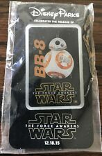 Disney Parks Star Wars Force Awakens Release Day BB-8 Pin Badge Limited Edition