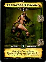Conan Core CCG TCG Card #060 Predator's Cunning