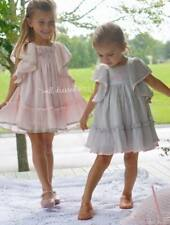 Girls WDW Well Dressed Wolf Grey Ana dress Size 8 years NWT