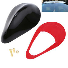 Black Front Roof Fin Antenna Car Radio Receiver Aerial FM Signal Amplifier Cover