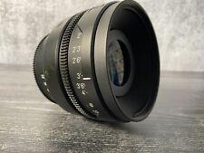 RED Pro 50mm T1.8 Prime Lens - PL Mount
