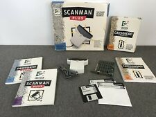 Logitech ScanMan Plus Handheld Scanner with Interface Card | Complete & Working