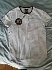Mens Grey Siksilk T Shirt Bnwt Medium