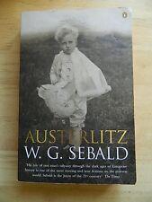 Austerlitz by W. G. Sebald, paperback 2002