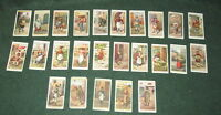 CRIES OF LONDON 2nd series SET OF 25 PLAYER'S CIGARETTE CARDS
