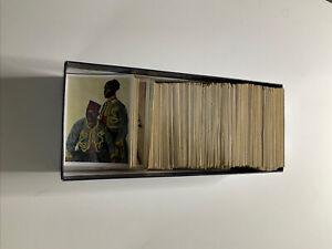 Ca. 450 Stück Zigarettenbilder / Weltkrieg 13/14/15/16/17/18