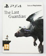 THE LAST GUARDIAN STEELBOOK EDITION - PLAYSTATION 4 PS4 PLAY STATION PAL ESPAÑA