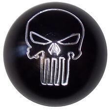 Black Aluminum Punisher Skull shift knob manual M12x1.25