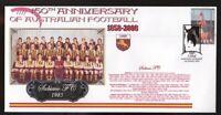 150th ANNIV OF AUSTRALIAN FOOTBALL COVER, SUBIACO FC 1985 WAFL PREMIERS