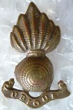 Badge- Royal Artillery Collar Badge (BRASS, Org*)