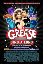 GREASE SING-A-LONG- 2010 orig D/S movie poster TRAVOLTA