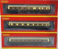 HORNBY R4758 R4758 R4762 - GREAT WESTERN GWR COLLETT EXPRESS COMPOSITE COACH SET