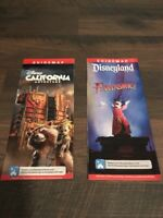 DCA California Adventure July 2016 Park Maps and Guide Disneyland
