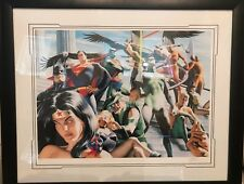 JUSTICE LEAGUE Of AMERICA - ARENA OF SUPER HEROES LTD Ed Alex Ross #312/350