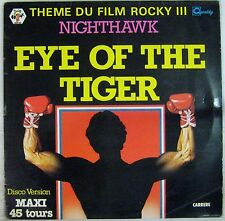 Rocky III Maxi 45 tours Eye of the Tiger 1982 Disco Version Stallone