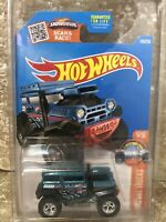 2014 Hot Wheels Super Treasure Hunt Secret BAD MUDDER 2 hidden