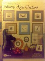 Canterbury Designs Cross Stitch Pattern Chart Leaflet COUNTRY APPLE ORCHARD 1985