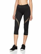 Large  Shock Absorber Activewear Capri Leggings Black Womens