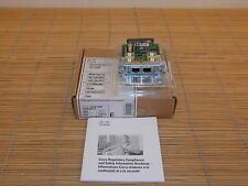 NEU Cisco VIC3-2E/M 2-port E&M Voice/Fax Interface Card Karte NEW OPEN BOX