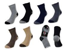 2, 4 oder 6 Paar Herren ABS Socken Anti Rutsch Haussocken mit Wolle