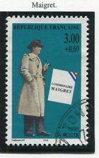 STAMP / TIMBRE FRANCE OBLITERE N° 3029 CELEBRITE MAIGRET /