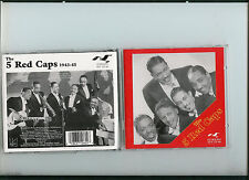 THE 5 RED CAPS FLYRIGHT 2-CD SET 1943-1945 CLASSIC R&B, SOUL OLDIES 25 TRACKS
