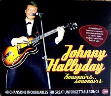 JOHNNY HALLYDAY ~ SOUVENIRS NEW  2 CD ROCK & ROLL  AND TWIST HITS. 117 MINUTES