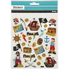 Pirate stickers enfant autocollante paillettes pirate stickers fun sac de fête