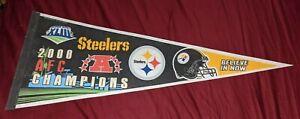 2008 NFL Pittsburgh Steelers AFC Champions Full Size Pennant Super Bowl XLIII