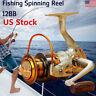 US New 12BB Ball Bearing Saltwater Freshwater Fishing Spinning Reel EF500-9000