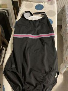 Speedo black swimsuit size 44/110cm - 20