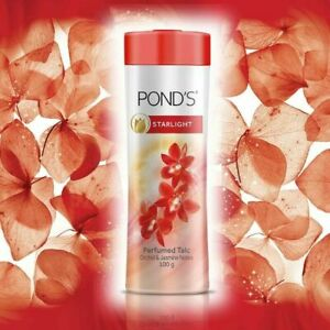 Pond's Starlight Perfumed Talc Powder Orchid & Jasmine Notes 100 g/ 3.53 Oz