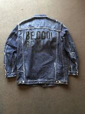 Dsquared Oversize Denim Jacket 'Be Cool Be Nice' BNWT Rare RRP £995 S
