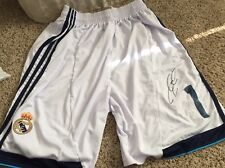 Iker Casillas Signed Real Madrid Soccer Shorts with proof