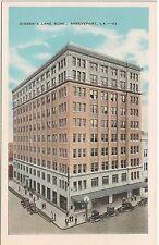 Gidden's Lane Building in Shreveport LA Postcard