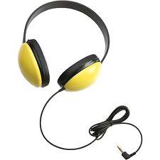 Califone Childs Stereo Headphone Yellow 2800YL