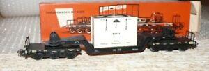 K26   Märklin 4618 Tiefladewagen Kiste DB