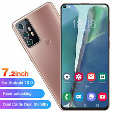 Note30Upro 7.2inch Large Screen Smartphone Dual Sim Card For Android10.0 Uk Plug