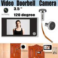 3.5'' HD Digital Video Door Viewer Peephole Security Doorbell Door Eye Camera US
