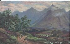 Postcard - Entrance to the Pass of Glencoe Scotland