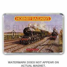 HORNBY TRAINS CATALOGUE ARTWORK 39th EDITION JUMBO Fridge / Locker Magnet