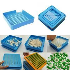 100 Holes Capsul Filling Machine Filler Plexiglass 1 Tool 000 Size Tamper O2U3
