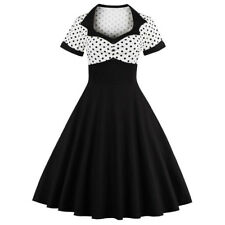 Jive Swing 1940s 50s Rockabilly Vintage Style Retro Womens Party Swing Dress